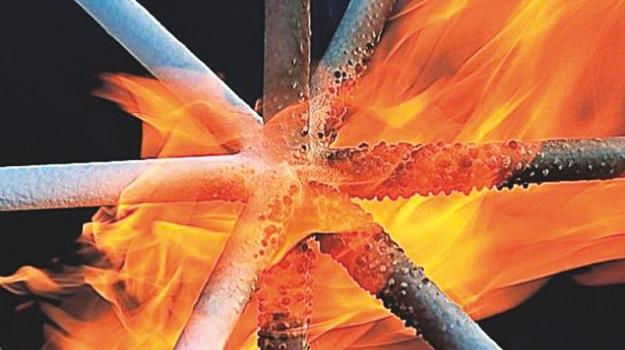 ocel v ohni